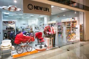 Інтернет-магазин дитячих товарів New Life